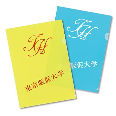 名入れシルククリアファイル(印刷領域全面)